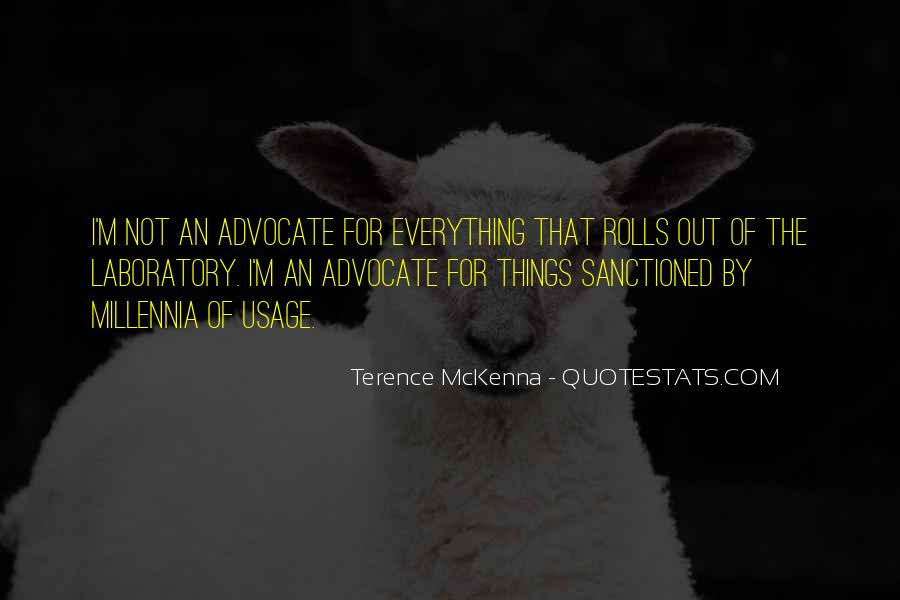 Quotes About Terence Mckenna #83604