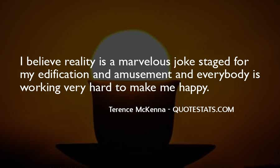 Quotes About Terence Mckenna #85287