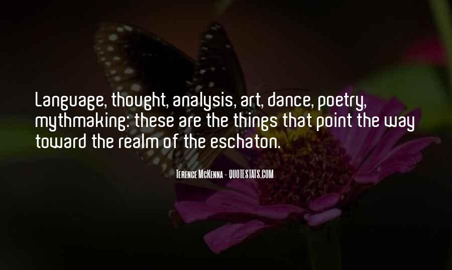 Quotes About Terence Mckenna #98887