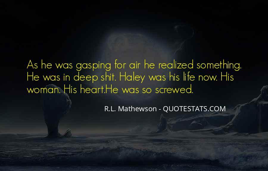 Rl Mathewson Quotes #1383917