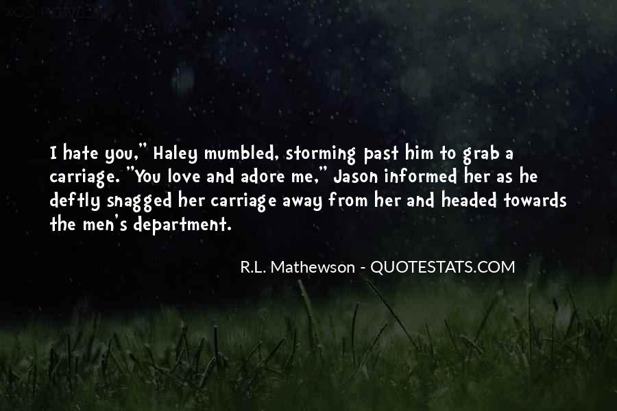 Rl Mathewson Quotes #546446