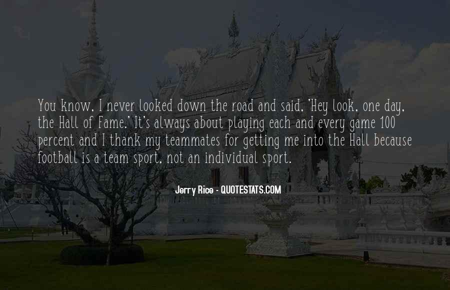 Road Game Quotes #598823