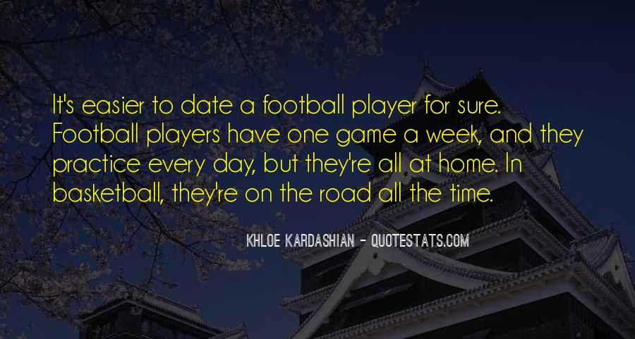 Road Game Quotes #8904