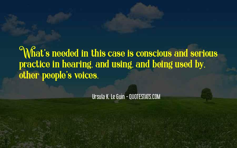 Quotes About Being Used To Someone #42740