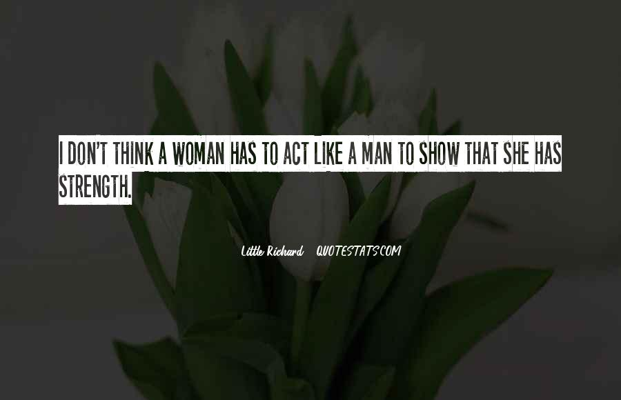 Quotes About A Woman Strength #248017