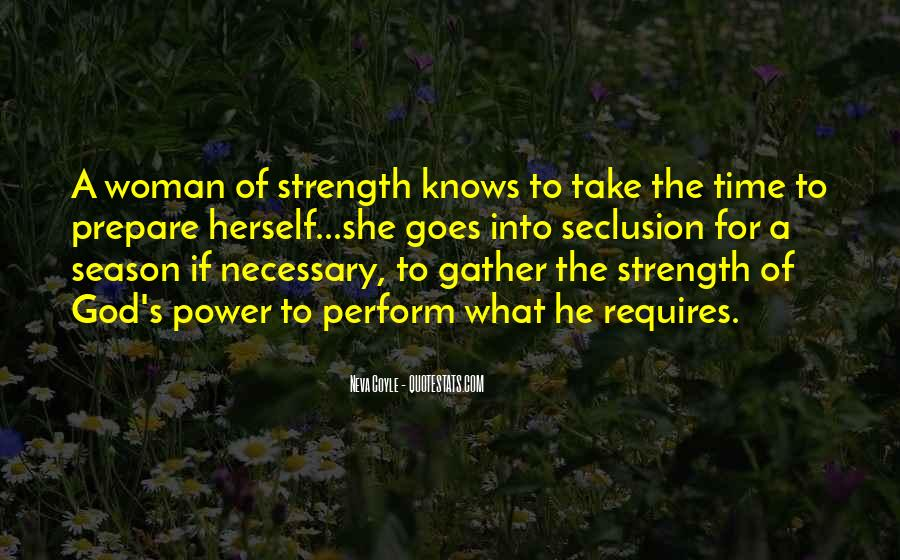 Quotes About A Woman Strength #591452