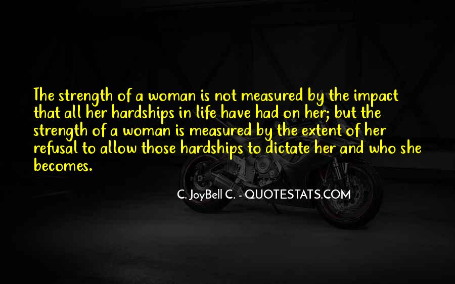 Quotes About A Woman Strength #851296
