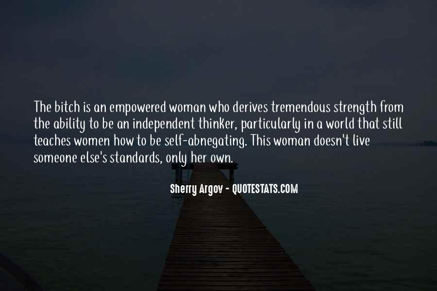Quotes About A Woman Strength #929507