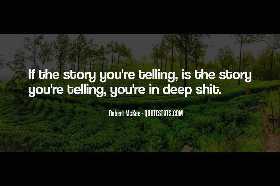 Robert Mckee Story Quotes #1011712
