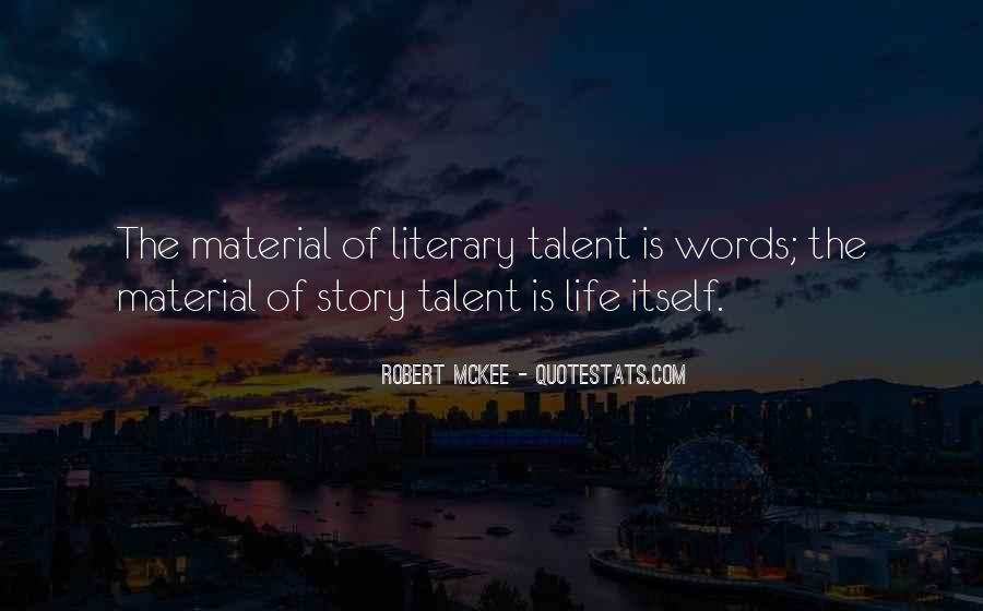Robert Mckee Story Quotes #1077480