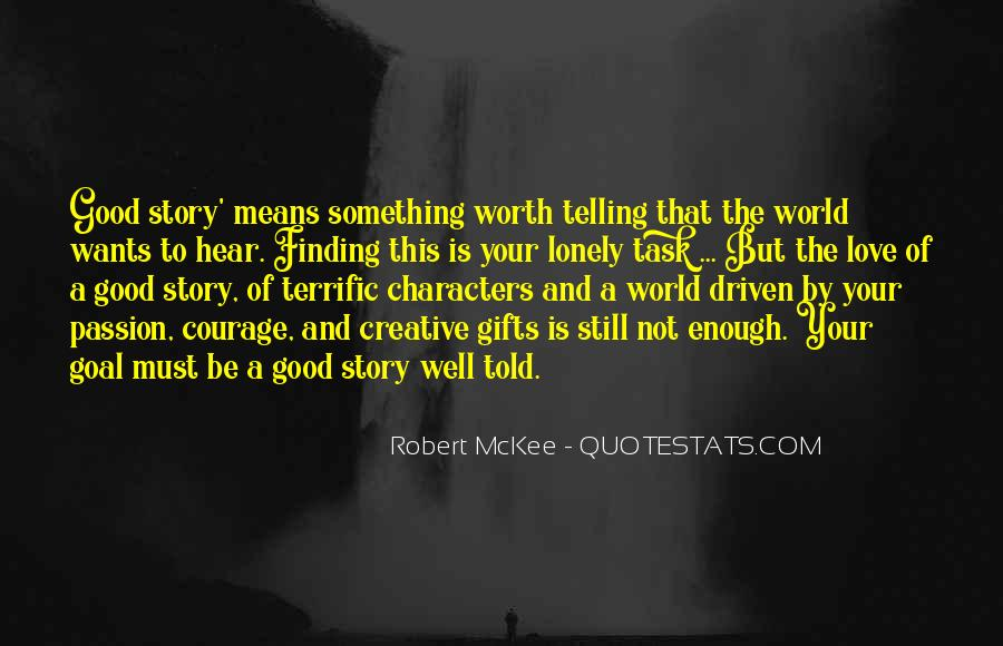 Robert Mckee Story Quotes #1171885