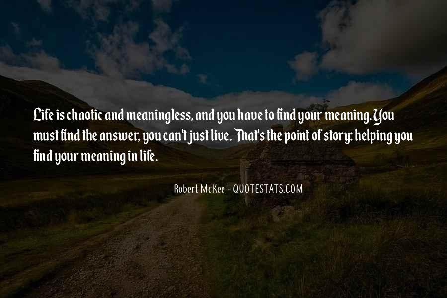 Robert Mckee Story Quotes #1194926