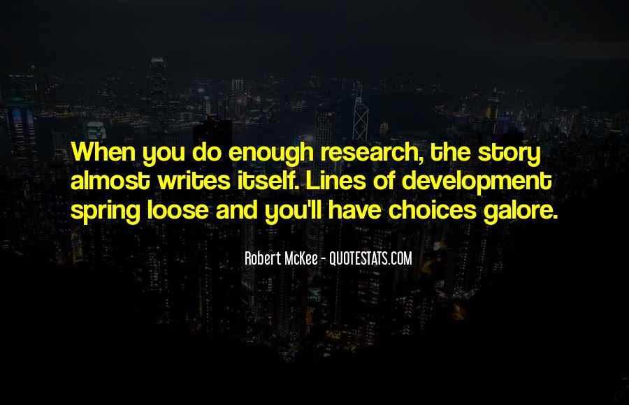 Robert Mckee Story Quotes #837677