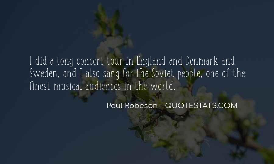 Robeson Quotes #1019253