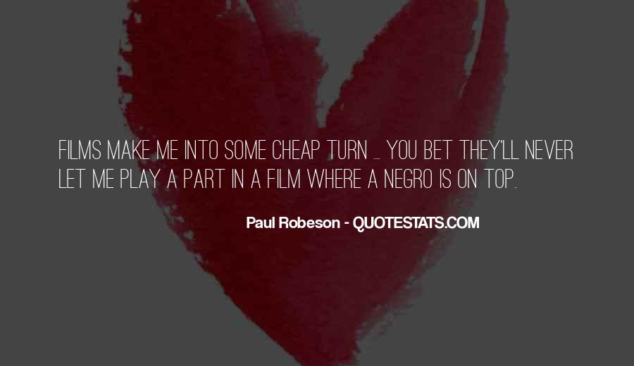 Robeson Quotes #1080119