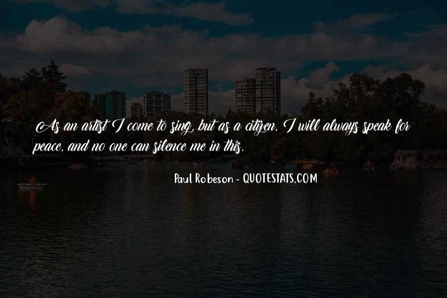 Robeson Quotes #1296055