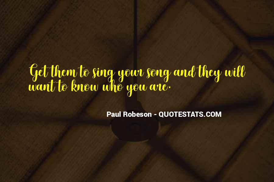 Robeson Quotes #1436020