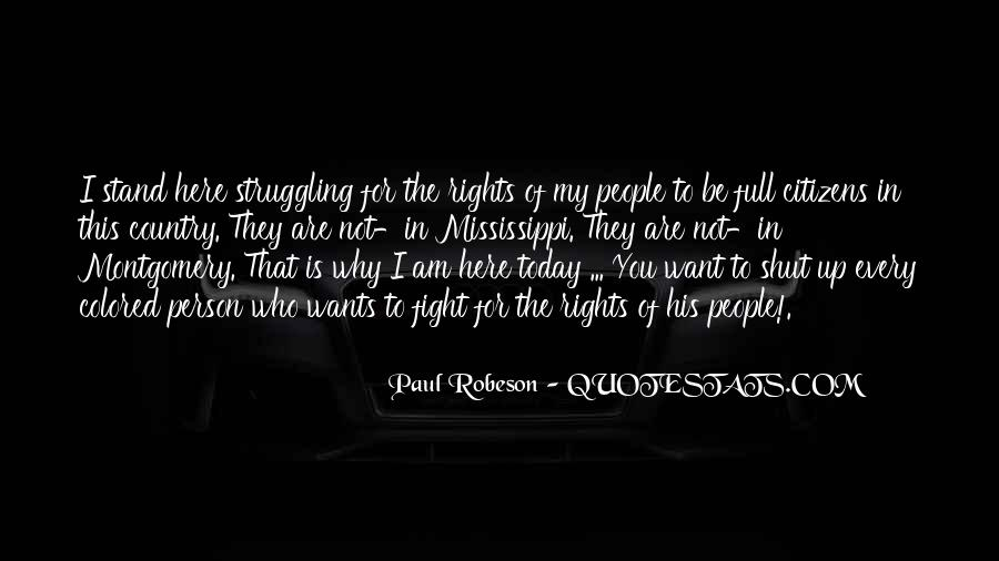 Robeson Quotes #167273
