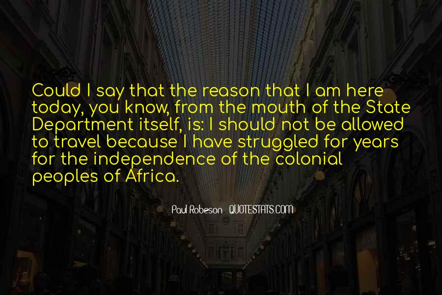 Robeson Quotes #842974