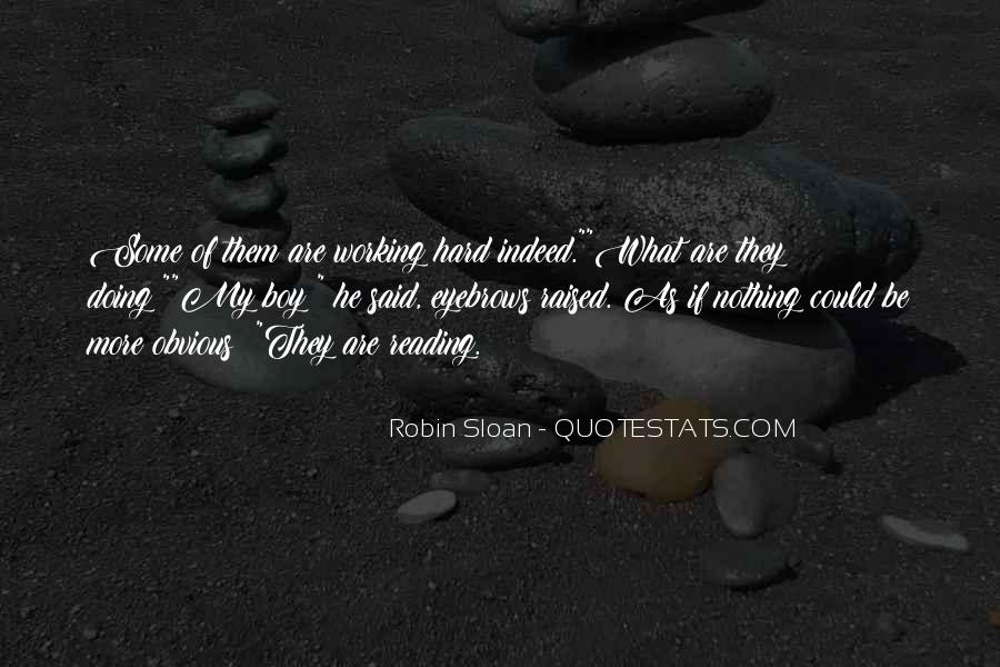 Robin The Wonder Boy Quotes #1007950