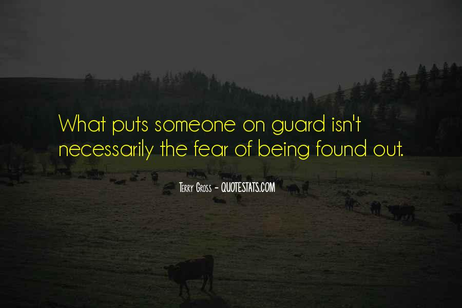Quotes About Being Found Out #293002