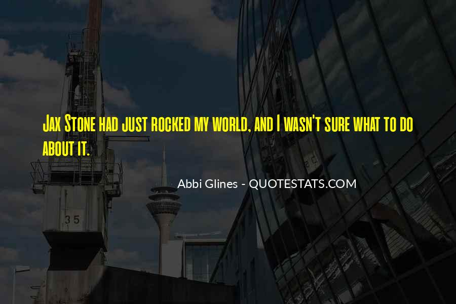 Rocked Under Quotes #408679