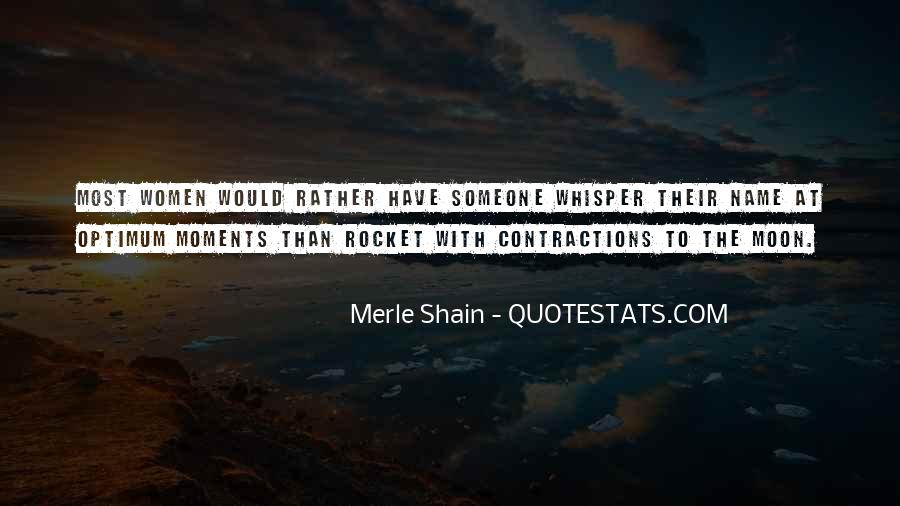 Rocket To The Moon Quotes #653034