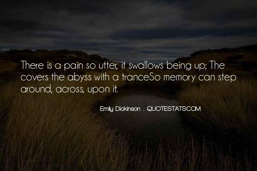 Quotes About Being Only A Memory #231105