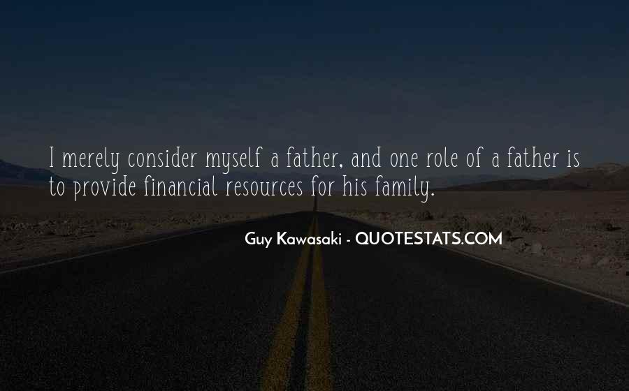 Role Of Father Quotes #1639075