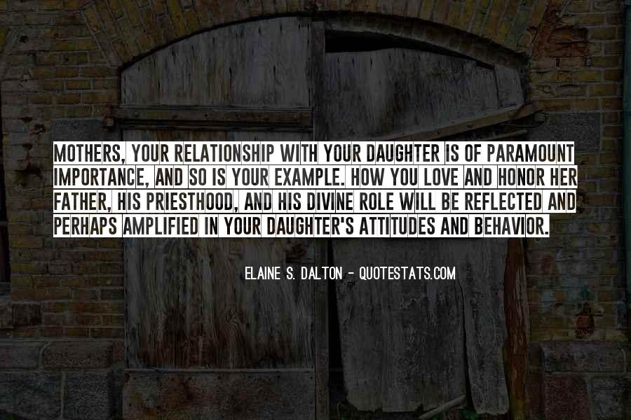 Role Of Father Quotes #260197