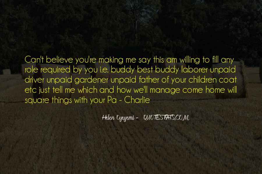 Role Of Father Quotes #46330