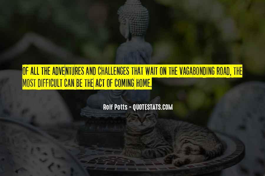 Rolf Potts Vagabonding Quotes #1295629