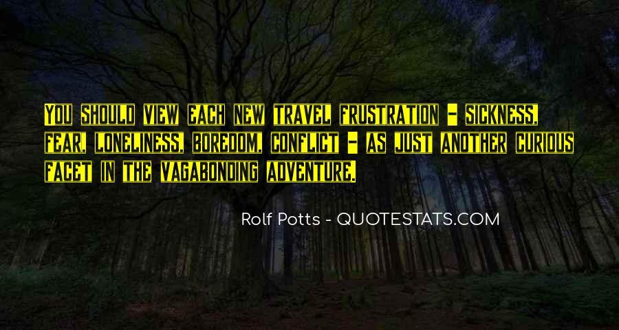 Rolf Potts Vagabonding Quotes #1418167