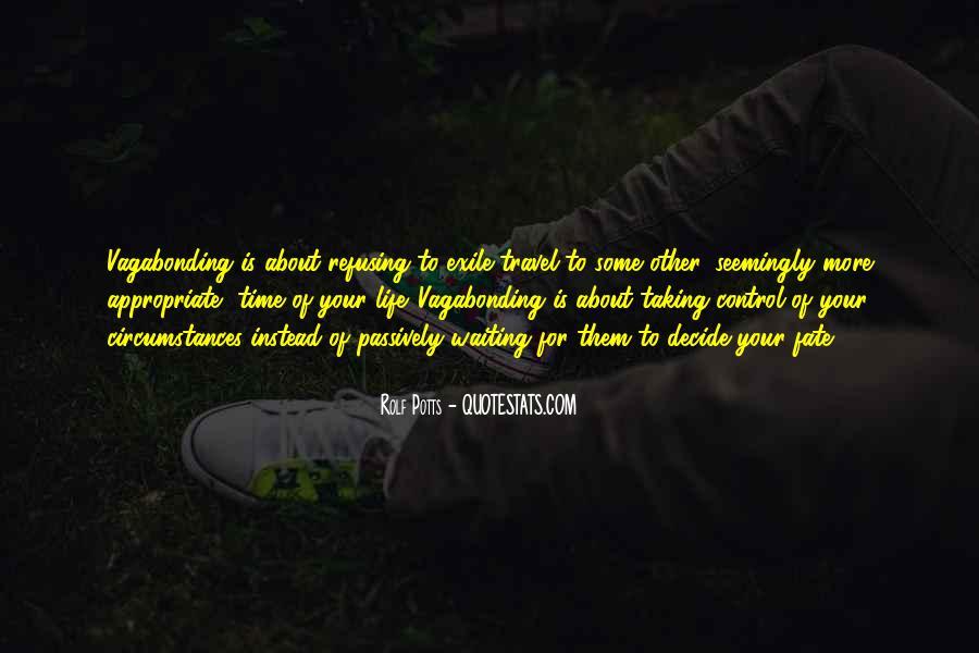 Rolf Potts Vagabonding Quotes #1485411