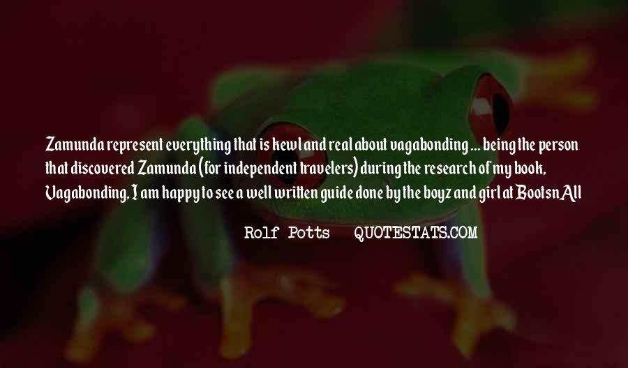 Rolf Potts Vagabonding Quotes #1616186