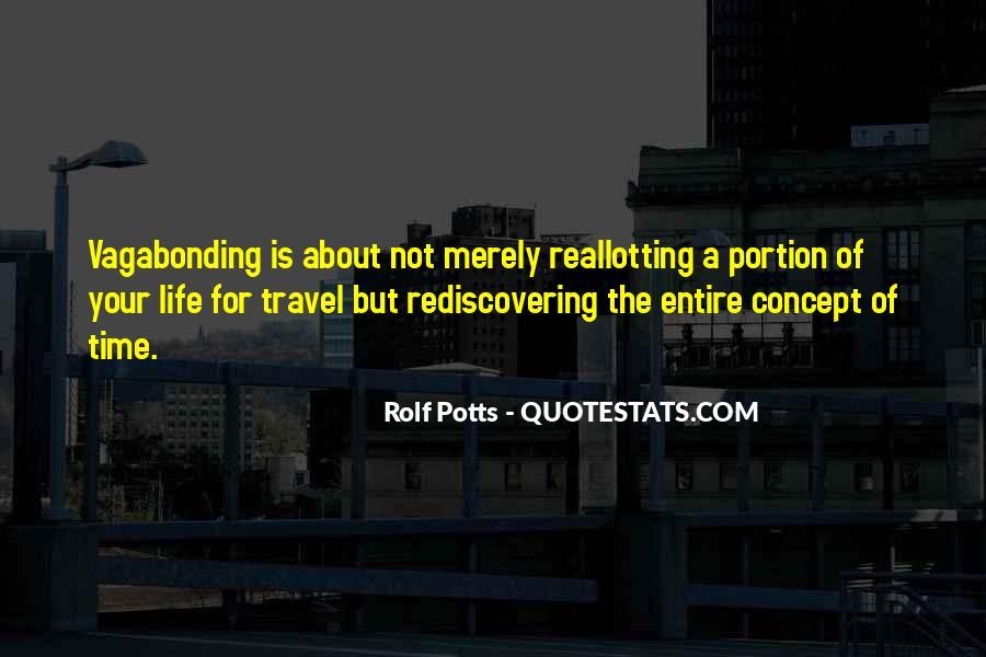 Rolf Potts Vagabonding Quotes #654085