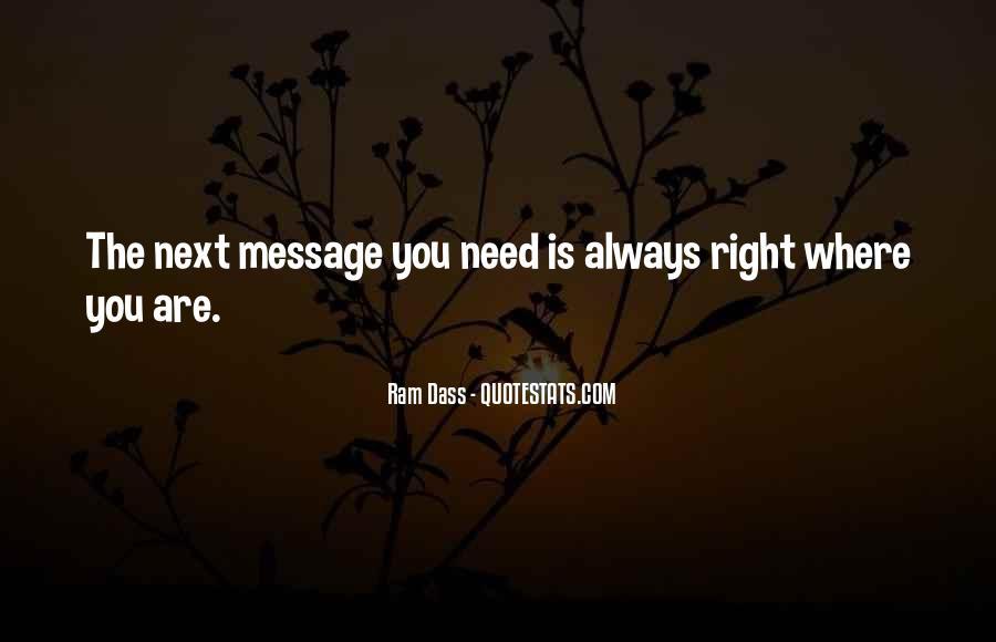 Rom Dass Quotes #105821