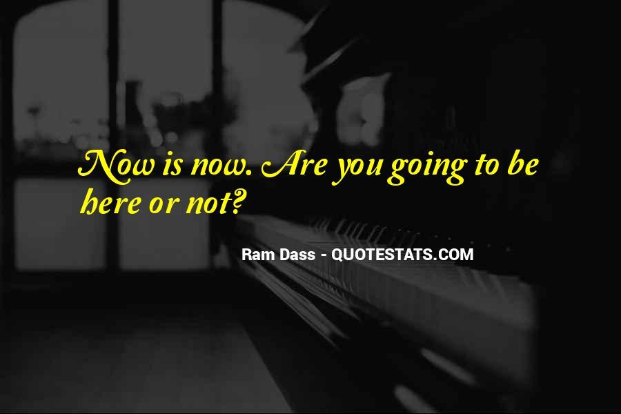 Rom Dass Quotes #142596