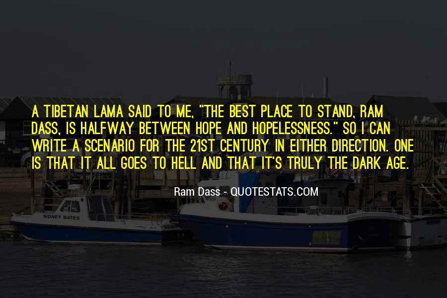 Rom Dass Quotes #257532
