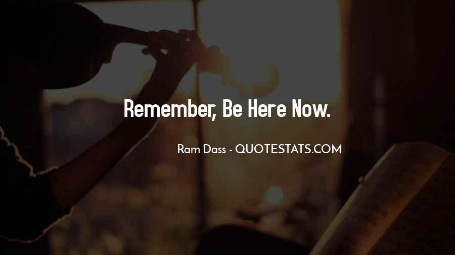 Rom Dass Quotes #29961