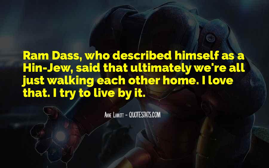 Rom Dass Quotes #336528