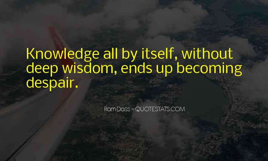 Rom Dass Quotes #357828