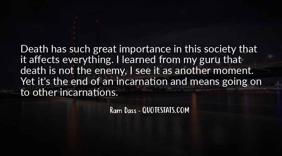 Rom Dass Quotes #417085