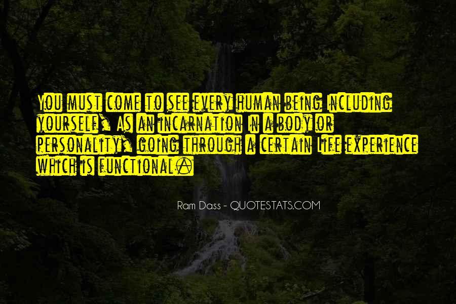 Rom Dass Quotes #508154