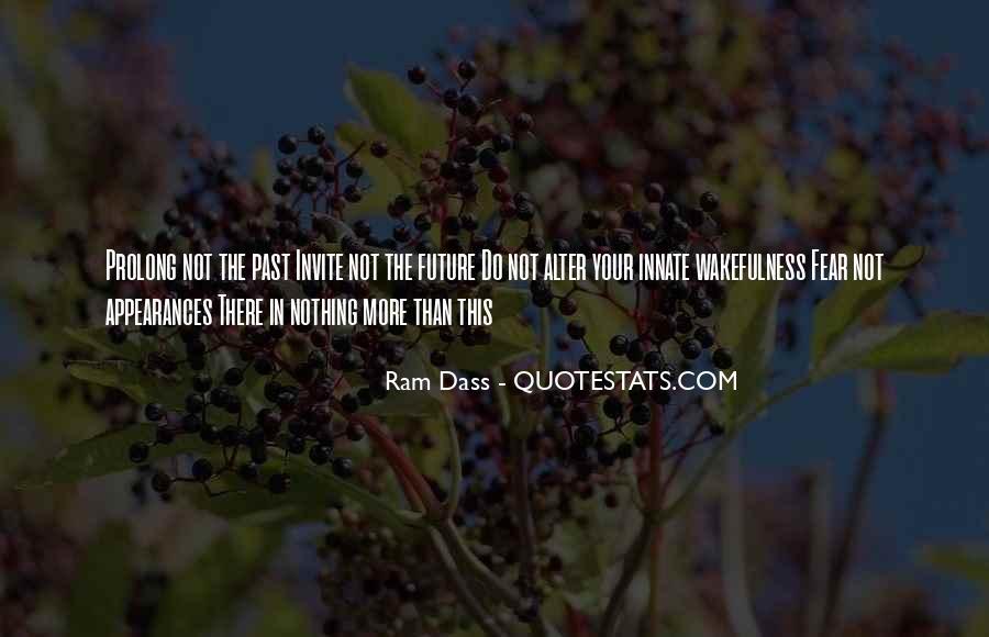 Rom Dass Quotes #509679