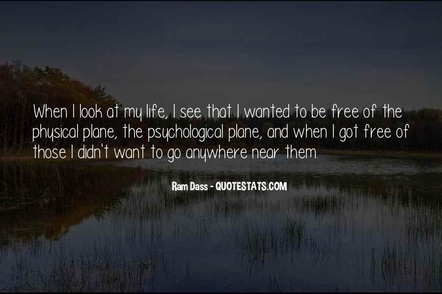 Rom Dass Quotes #512309