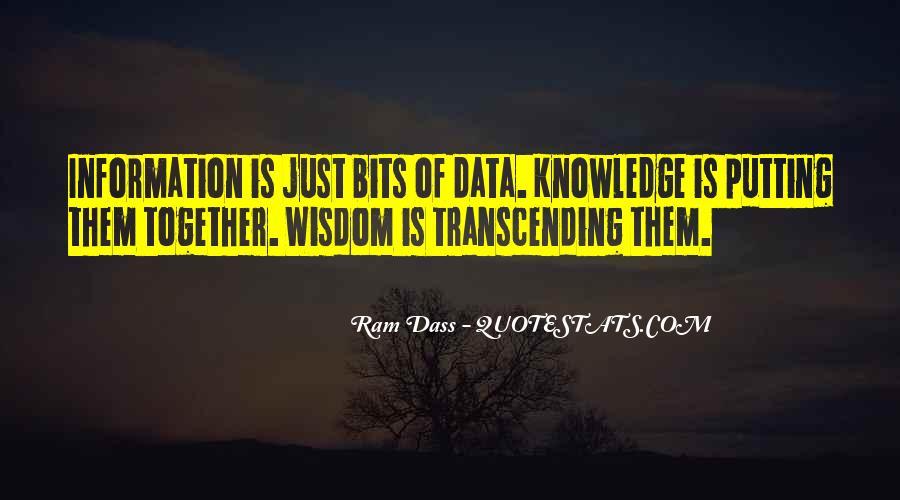 Rom Dass Quotes #92276