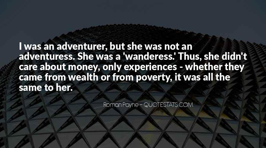 Roman Payne Wanderess Quotes #210784