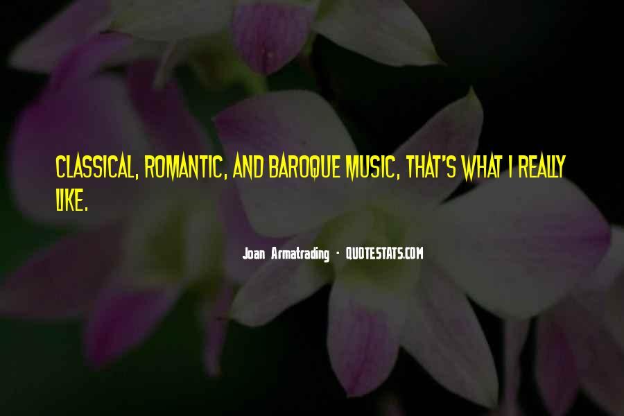 Romantic Baroque Quotes #1086358
