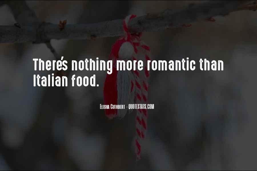 Romantic Food Quotes #1564218